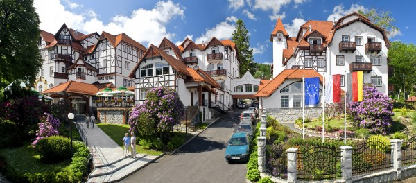 Park Hotel**** KUR & SPA - Świeradów-Zdrój noclegi