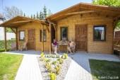 Domki letniskowe Domki drewniane DOMINIKA - wypoczynek