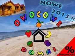 Owocowe Domki - Sarbinowo noclegi