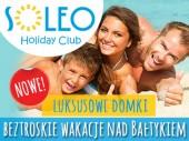 Domki letniskowe SOLEO HOLIDAY CLUB - DOMKI I APARTAMENTY LETNISKOWE - wypoczynek